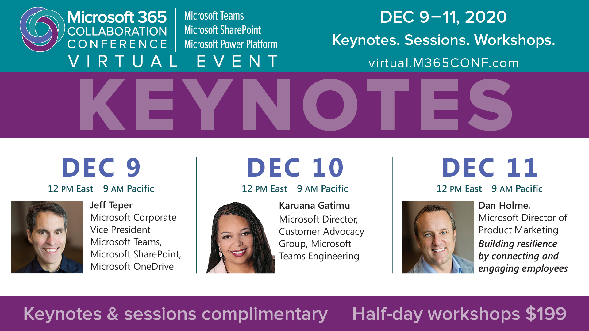 Microsoft 365 Collaboration Conference Virtual Event